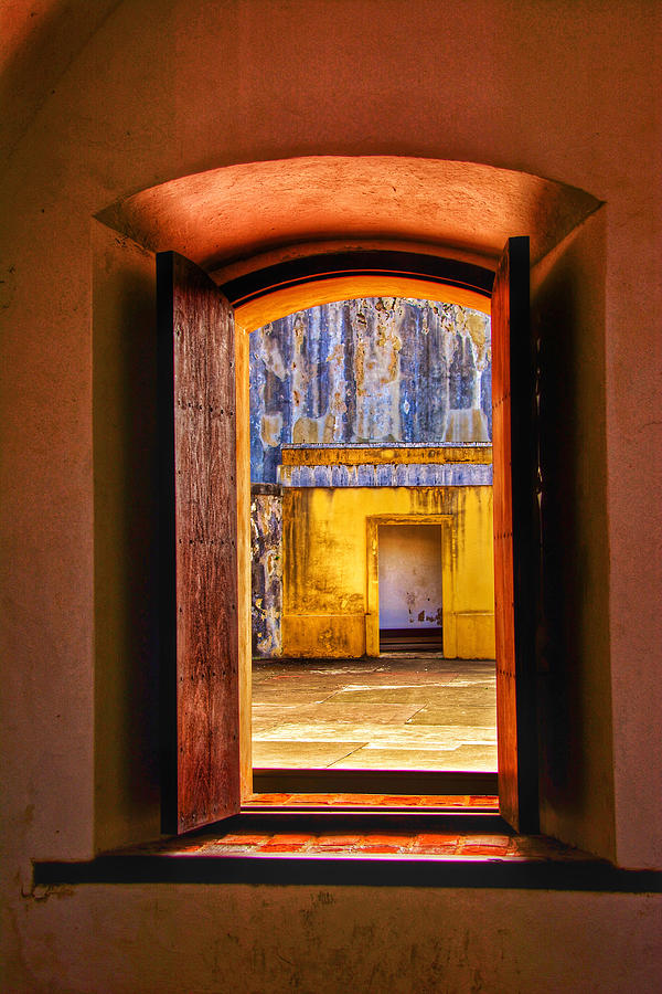 Architecture Photograph - Looking Out by Kathi Isserman