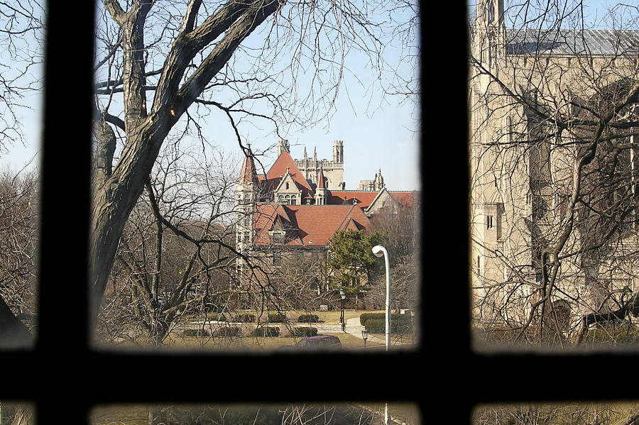 Window Photograph - Looking Past The Window  by Eugene Bergeron