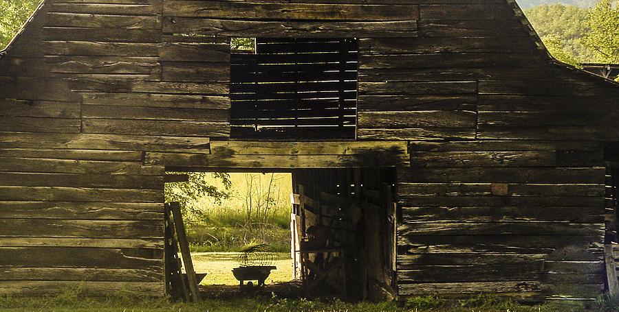 Black Photograph - Looking Through by Robert J Andler