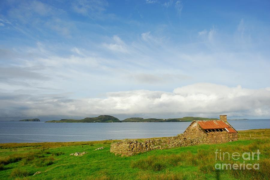 Scotland Photograph - Looking To The Summer Isles by John Kelly