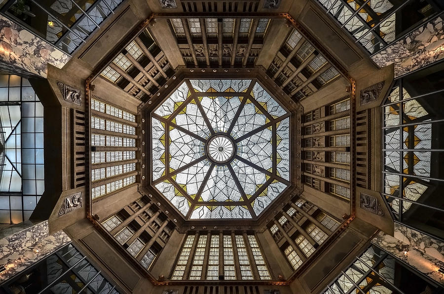 Prag Photograph - Looking Up by Renate Reichert