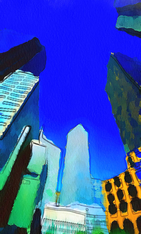 New Digital Art - Looking Up by Yury Malkov