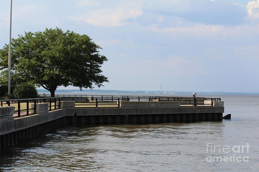 Riverfront Photograph - Lookout Point by David Jackson