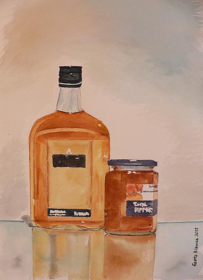 Pub Painting - Looks Can Be Deceiving by Geeta Biswas