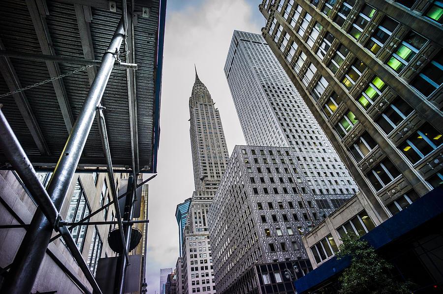 Chrysler Photograph - Looming Chrysler by Chris Halford