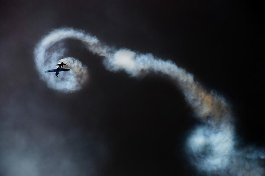 Action Photograph - Looping by Ionut Harag