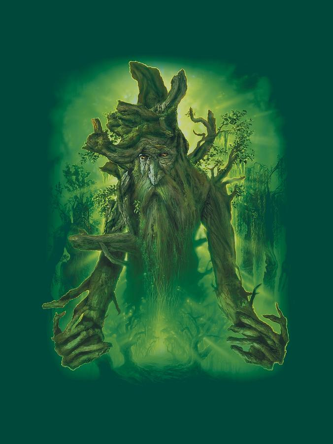 Lord Of The Rings Digital Art - Lor - Treebeard by Brand A