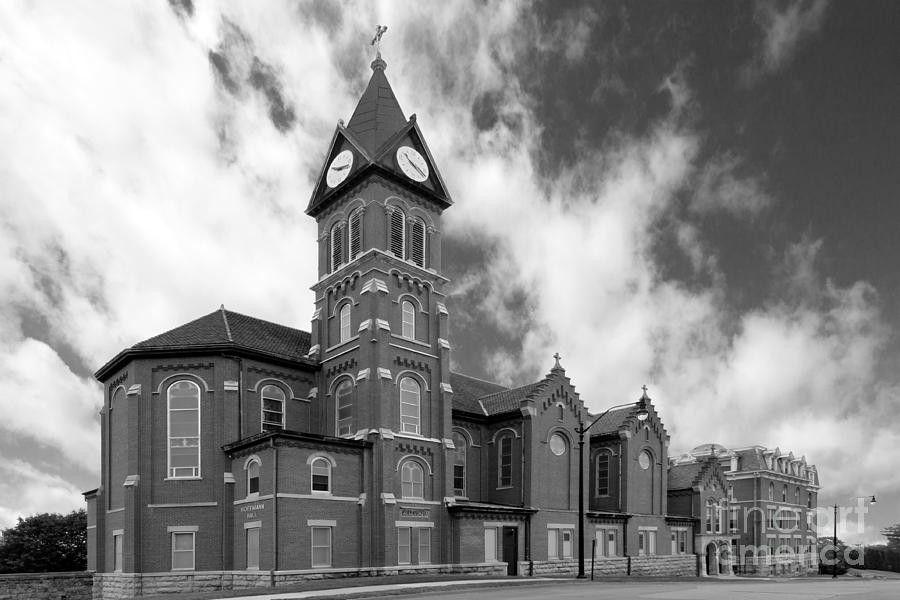 Catholic Photograph - Loras College St. Joseph Chapel by University Icons