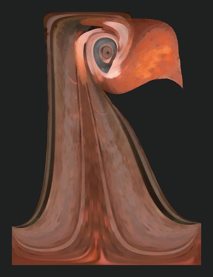 Bird Digital Art - Lord Beaker by Wendy J St Christopher