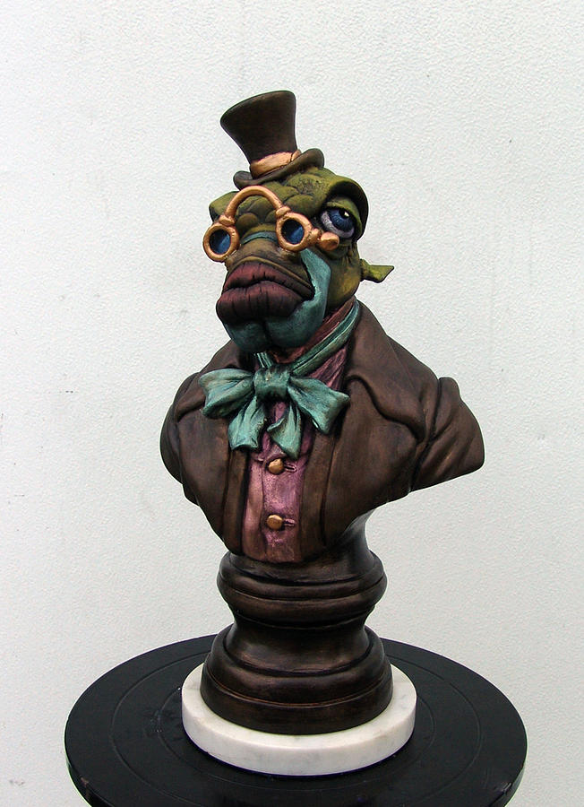 Top Sculpture - Lord Finn Ribblescale by Patrick Anthony Pierson