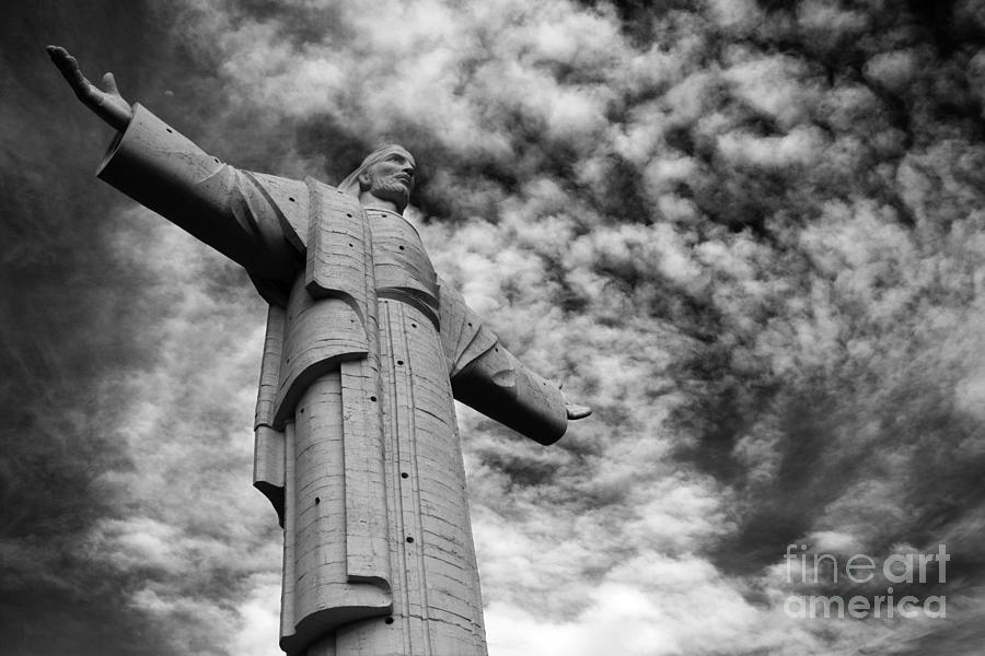 Jesus Christ Photograph - Lord Of The Skies 3 by James Brunker