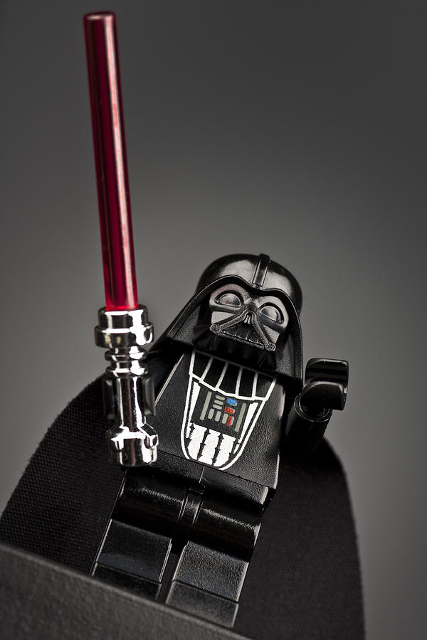 Lego Photograph - Lord Vader by Samuel Whitton