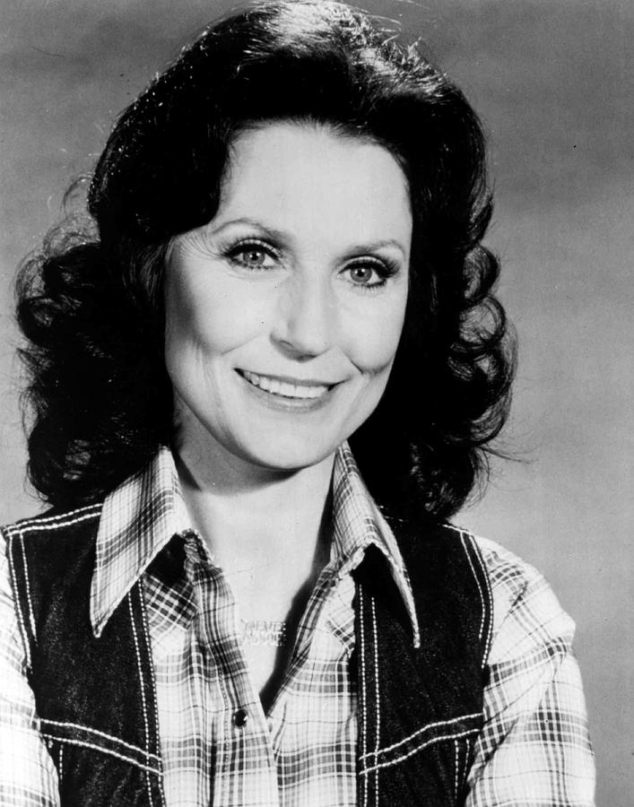 Retro Images Archive Photograph - Loretta Lynn Smiling by Retro Images Archive