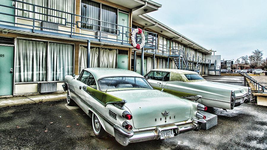 Memphis Photograph - Lorraine Motel - Memphis by Stephen Stookey