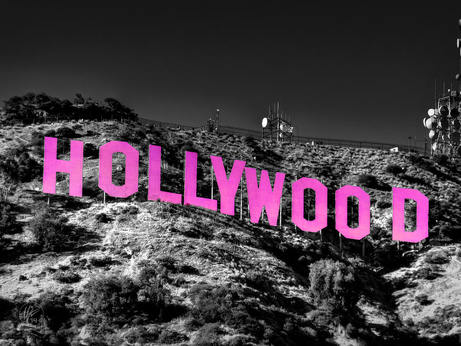 Hollywood Sign Photograph - Los Angeles 016 C by Lance Vaughn