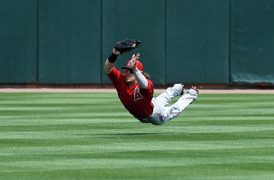 Los Angeles Angels Of Anaheim V Oakland Photograph by Sarah Crabill