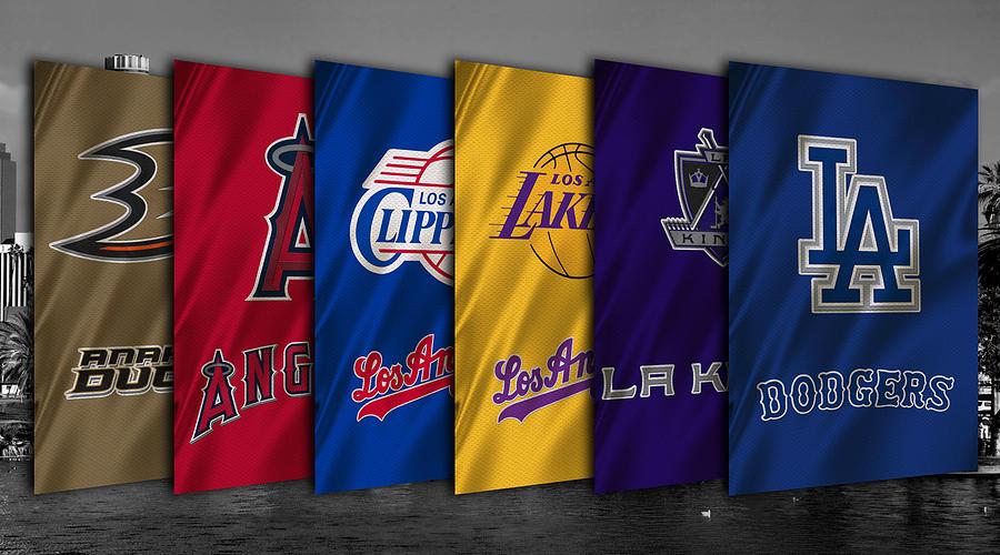 Los Angeles Sports Teams Photograph By Joe Hamilton