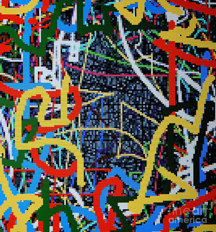Los Angeles Digital Art - Los Angeles by Taikan Nishimoto