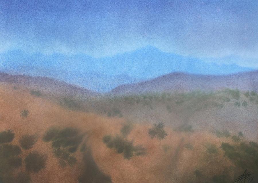 Los Penasquitos Canyon Preserve Painting - Los Penasquitos Canyon I by Robin Street-Morris