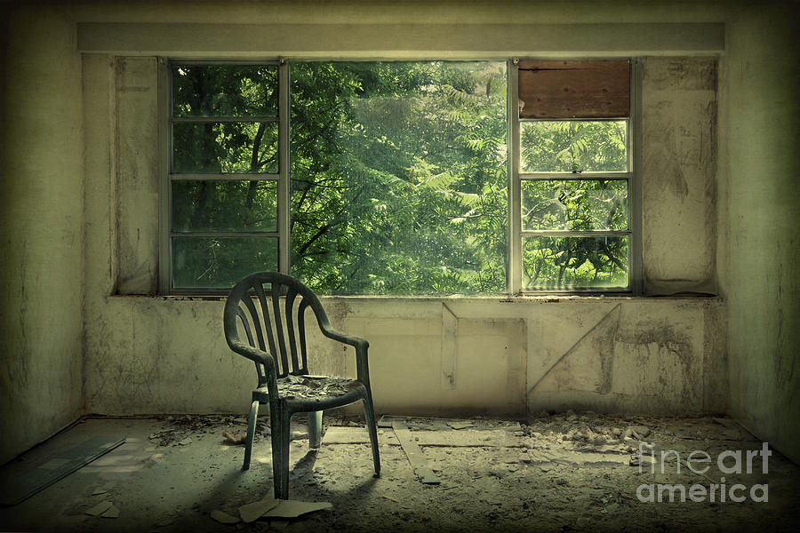 Abandoned Photograph - Lose Your Delusions by Evelina Kremsdorf