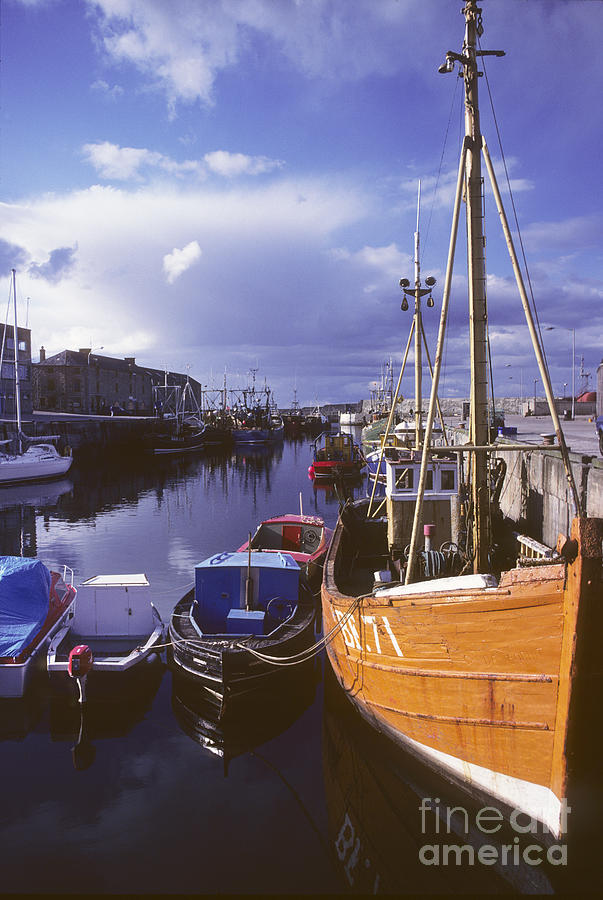 Lossiemouth Photograph - Lossiemouth Harbour - Scotland by Phil Banks