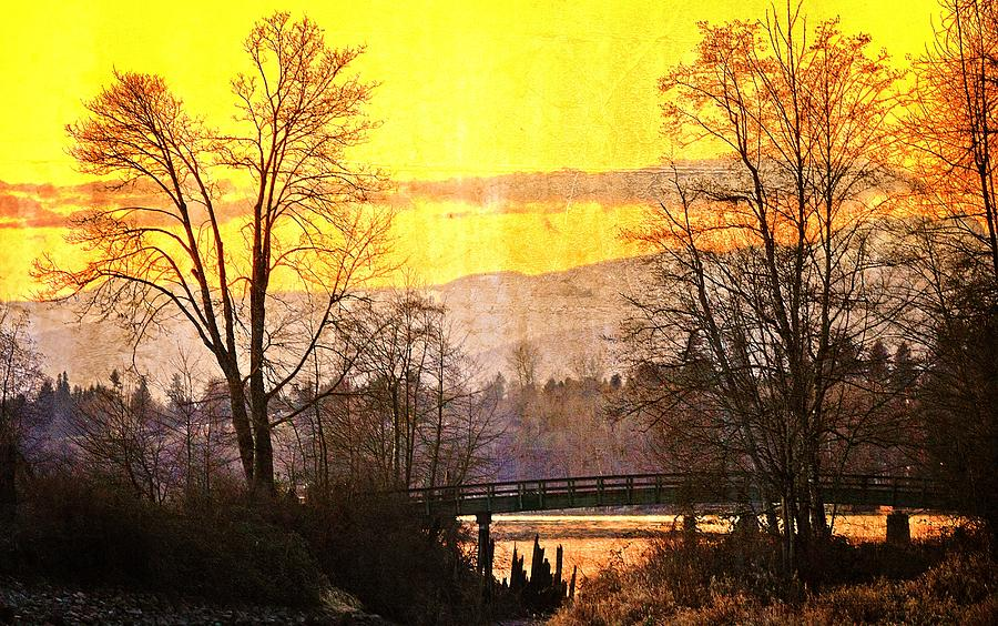 Painting Photograph - Lost Along The River by Eti Reid