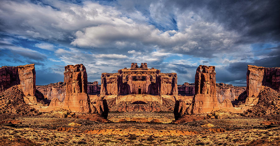 Fantasy Photograph - Lost City Of Gold by Ron Jones