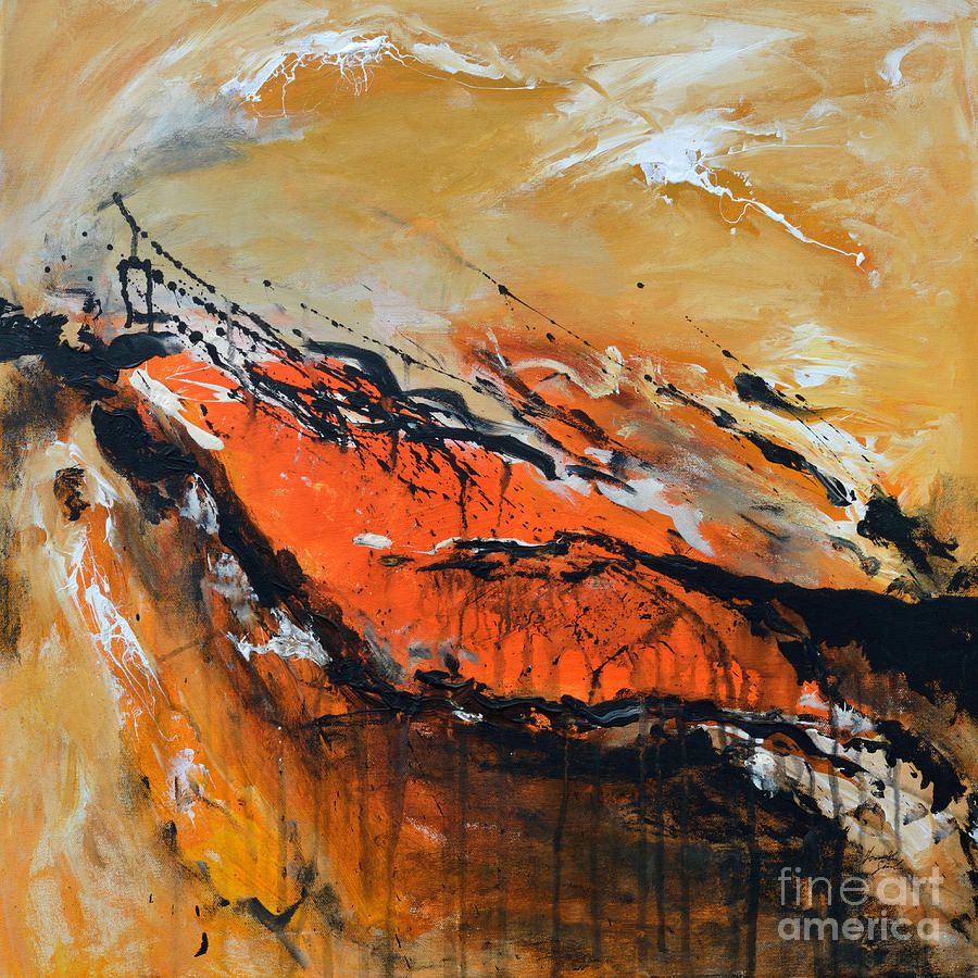 Lost Hope Painting - Lost Hope - Abstract by Ismeta Gruenwald
