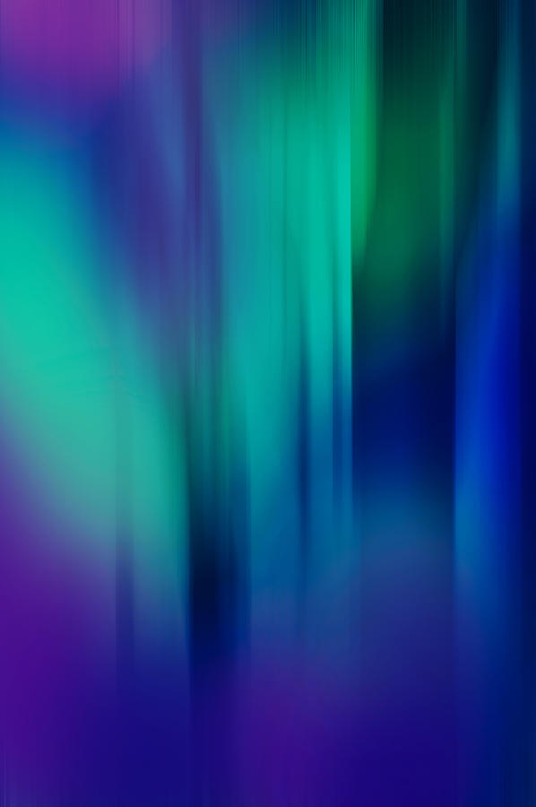 Abstract Photograph - Lost In The Enchanting Forest  1 by Jenny Rainbow