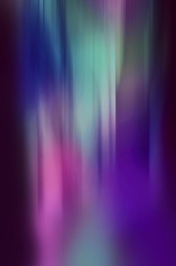 Abstract Photograph - Lost In The Enchanting Forest  2 by Jenny Rainbow