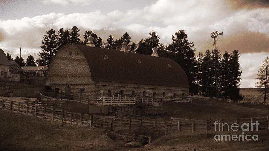Iowa Farm Photograph - Lost In Time by Garren Zanker