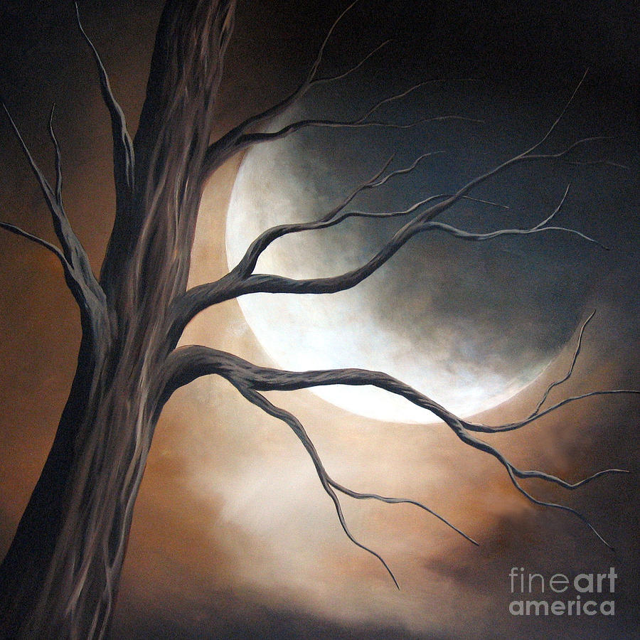 Tree Painting - Lost In Your Beauty By Shawna Erback by Shawna Erback