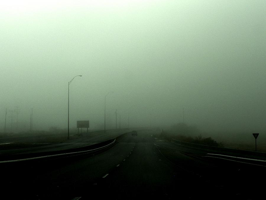 Smog Photograph - Lost by M Pace