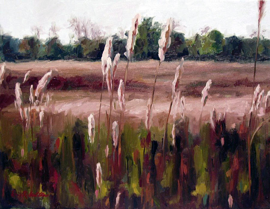 Natchez Trace Parkway Painting - Lost On The Trail At Chickasaw Meadow by Erin Rickelton
