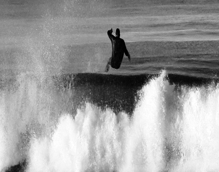 Surfing Photograph - Lost One by Gilbert Artiaga