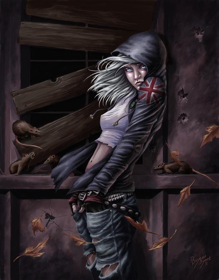 Horror Digital Art - Lost Princess by Bryan Syme