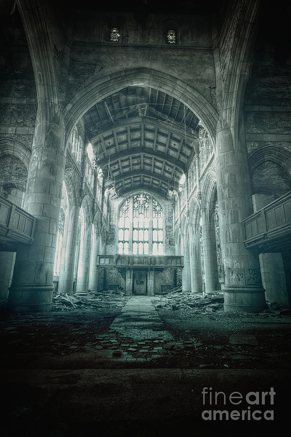 Church Photograph - Lost Religion by Margie Hurwich