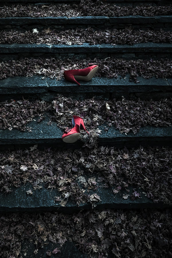 Shoe Photograph - Lost Shoes by Joana Kruse