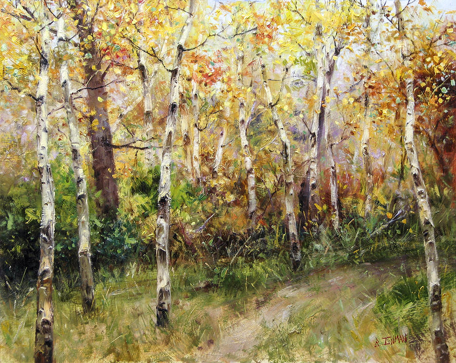Beautiful Painting - Lost Trail Found by Bill Inman