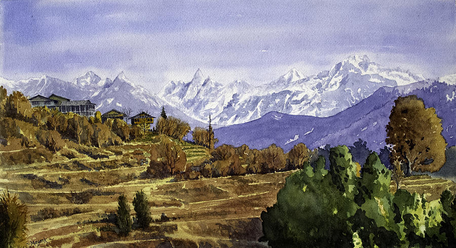 Lot Village Landscape by Mayank M M Reid