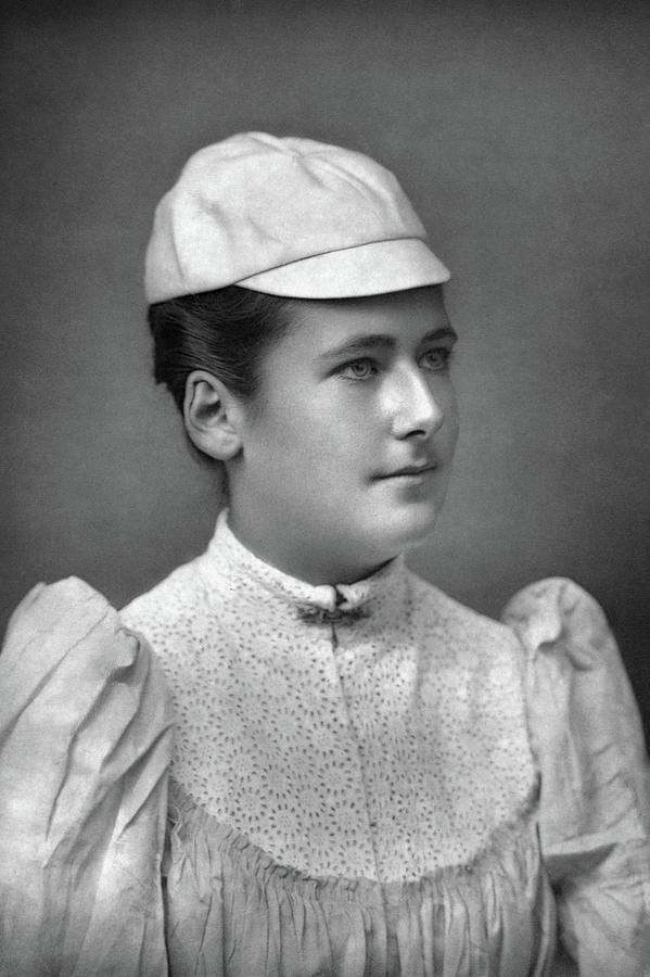 1892 Photograph - Lottie Dod (1871-1960) by Granger