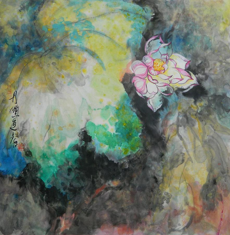 Lotus Bloom by Min Wang