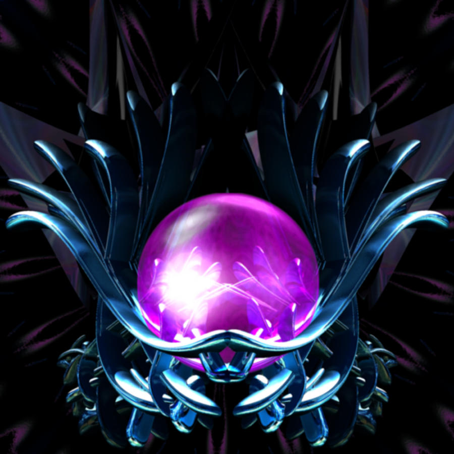 Magic Digital Art - Lotus Crystal by Elizabeth S Zulauf