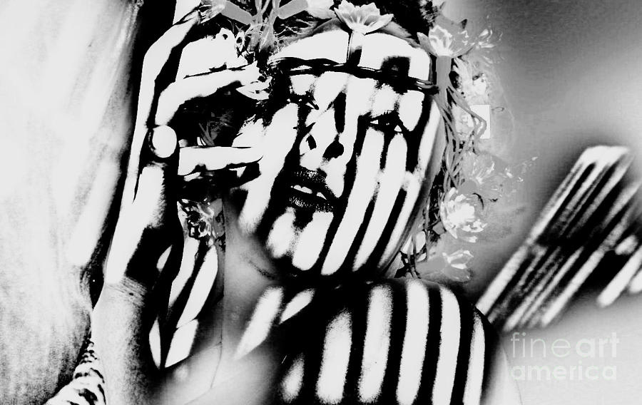 Stripes Photograph - Lotus Lights by Jessica Shelton