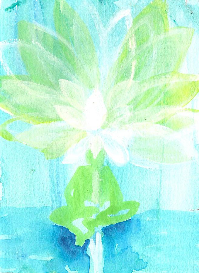 Lotus Flower Painting - Lotus Petals Awakening Spirit by Ashleigh Dyan Bayer