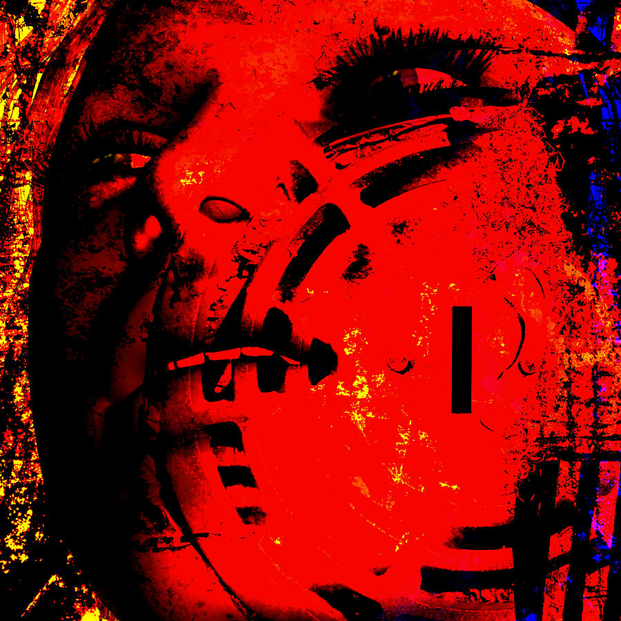 Figure Digital Art - Lotus Queen by Gallery Nex