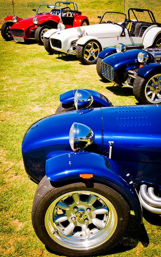 Custom Cars Photograph - Lotus Seven by Phil motography Clark