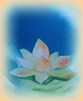 Lotus Painting - Lotus Song by Wendy Wiese