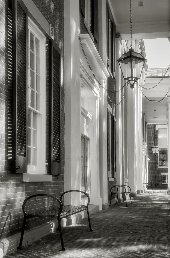 Architecture Photograph - Loudon County Courthouse I by Steven Ainsworth