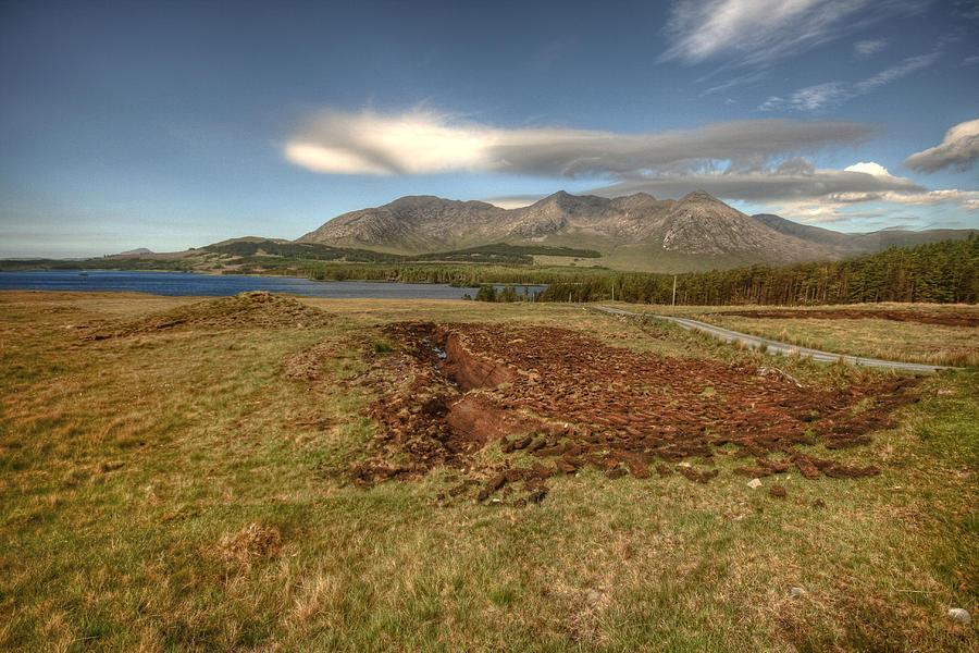 Beautiful Lake Photograph - Lough Inagh Valley View by John Quinn
